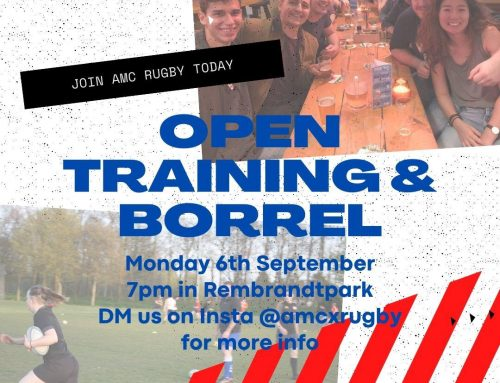 First open training – 6th September!